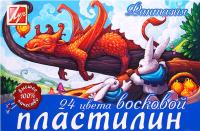 Пластилин восковой ЛУЧ Фантазия / 25С 1525-08 (24цв) -
