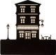 Бра Home Light Астерия C055-10-B (черный) -