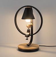 Прикроватная лампа Home Light Астерия E013-1-B (черный) -