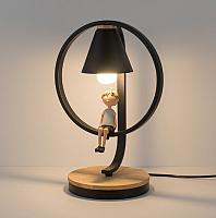 Прикроватная лампа Home Light Астерия E013-2-B (черный) -