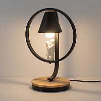 Прикроватная лампа Home Light Астерия E013-3-W (белый) -
