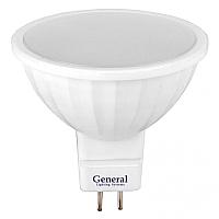 Лампа General GLDEN-MR16-7-230-GU5.3-4500 / 632800 -