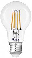 Лампа General GLDEN-A60S-B-8-230-E27-4500 / 660220 -