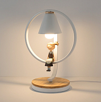 Прикроватная лампа Home Light Астерия E013-1-W (белый) -