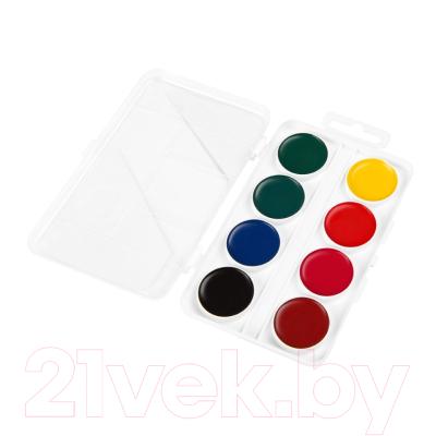 Акварельные краски ГАММА Пчелка / 212068 (8цв)