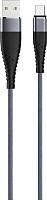 Кабель Olmio Solid USB 2.0 - microUSB 2.1A / 039049 (1.2м, титан) -