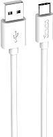 Кабель Olmio USB 2.0 - USB type-C / 038899 (1м, белый) -