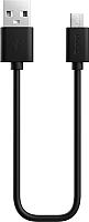 Кабель Olmio USB 2.0 - microUSB 2.1A / 038660 (2м, черный) -