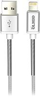 Кабель Olmio Hd USB 2.0 - lightning 2.1A / 038645 (1.2м, белый) -