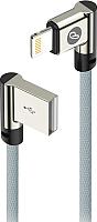 Кабель Olmio USB 2.0 - Lightning / 038654 (1м, угловой) -