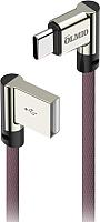 Кабель Olmio USB 2.0 - USB type-C / 038769 (1м, угловой) -
