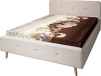 Двуспальная кровать Мебель-Парк Сканди Стелла-1 200x160 (Alex Plain 2) -