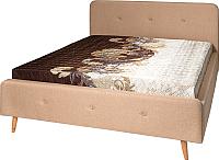 Двуспальная кровать Мебель-Парк Сканди Стелла-1 200x160 (Alex Plain 7) -