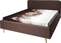 Двуспальная кровать Мебель-Парк Сканди Стелла-1 200x160 (Alex Plain 33) -