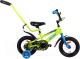 Детский велосипед с ручкой AIST Pluto 12 2020 (желтый) -