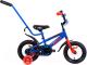 Детский велосипед с ручкой AIST Pluto 12 2020 (синий) -