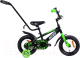 Детский велосипед с ручкой AIST Pluto 12 2020 (черный) -