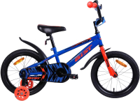 Детский велосипед AIST Pluto 14 2020 (синий) -