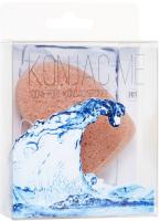Губка для лица Beauty Bar Beauty Me Konjac воздушный спонж с розовой глиной -