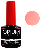 База для гель-лака Opium French nano nails base color 1 (8мл) -