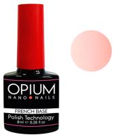 База для гель-лака Opium French nano nails base color 5 (8мл) -