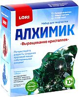 Набор для выращивания кристаллов Lori Изумрудный кристалл / Вкр-011 -