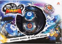 Игровой набор Infinity Nado Два волчка Сплит Shark & Mecha / 36058 -