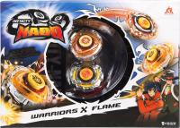 Игровой набор Infinity Nado Два волчка Сплит Warriors & Flame / 36057 -