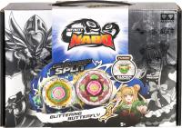 Игрушка детская Infinity Nado Волчок Крэк Glittering Butterfly / 36065 -