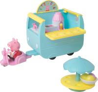 Мини-кафе игрушечное Peppa Pig Палатка с мороженым / 33849 -
