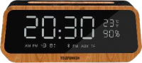 Радиочасы Telefunken TF-1701B (дерево) -