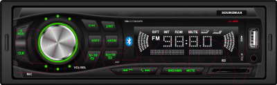 Бездисковая автомагнитола SoundMax SM-CCR3184FB