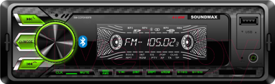 Бездисковая автомагнитола SoundMax SM-CCR3183FB