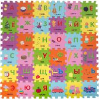 Коврик-пазл Peppa Pig Учим азбуку с Пеппой / 30128 -