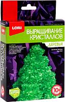 Набор для выращивания кристаллов Lori Деревья. Зеленая елочка / Крд-002 -