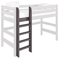 Лестница для кровати Мебельград Соня пакет №7 прямая (массив сосны лаванда) -