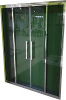 Душевая дверь Coliseum 2002-140 (тонированное стекло) -