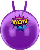 Фитбол с рожками Starfit Wow GB-0402 (55см, фиолетовый) -