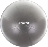Фитбол гладкий Starfit Pro GB-107 (55см, серый) -