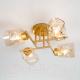 Люстра Евросвет Hilari 30165/4 (перламутровое золото) -