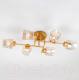 Люстра Евросвет Hilari 30165/6 (перламутровое золото) -