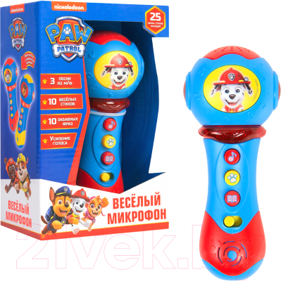 Музыкальная игрушка PAW Patrol Микрофон / 32695