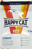 Корм для кошек Happy Cat VET Diet Struvit / 70323 (4кг) -