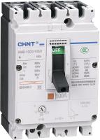 Выключатель автоматический Chint NM8-125S 3P 80А 50кА / 149685 -