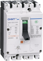 Выключатель автоматический Chint NM8-250S 3P 100А 50кА / 149476 -