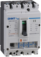 Выключатель автоматический Chint NM8S-250S 3P 125А 50кА / 150042 -