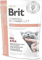 Корм для кошек Brit VD Cat Grain Free Renal / 528332 (400г) -