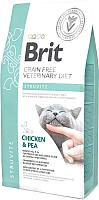 Корм для кошек Brit VD Cat Grain Free Struvite Chicken & Pea / 528271 (2кг) -