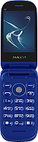 Мобильный телефон Maxvi E3 Radiance (синий) -