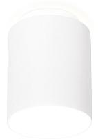 Точечный светильник Ambrella TN260 WH/S (белый/песок) -